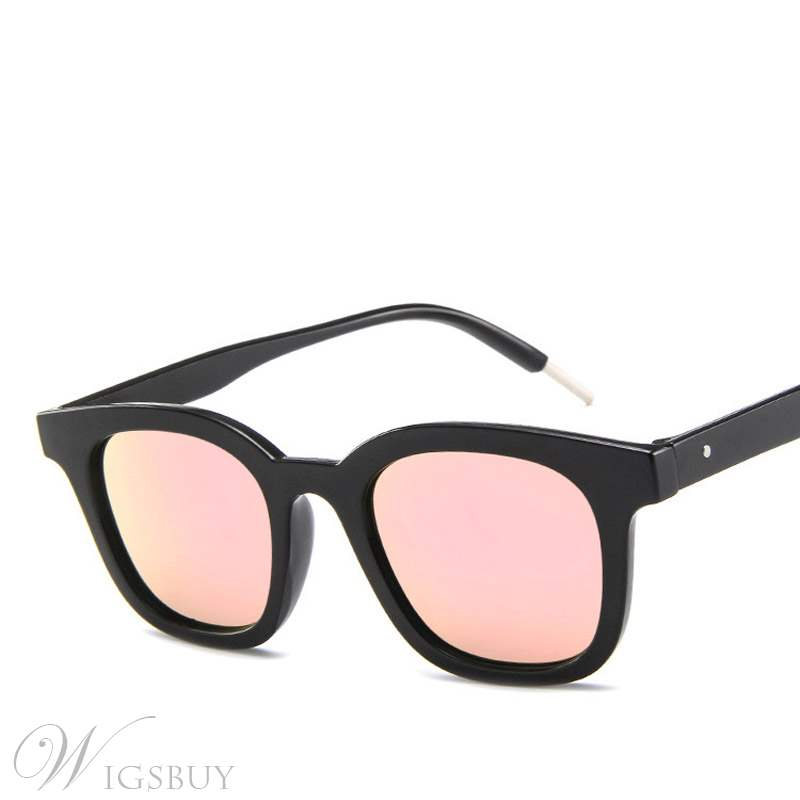 Contracted Cat Eye Shape Sunglasses
