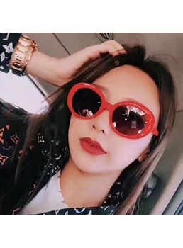 Women's Oval Shape Sunglasses