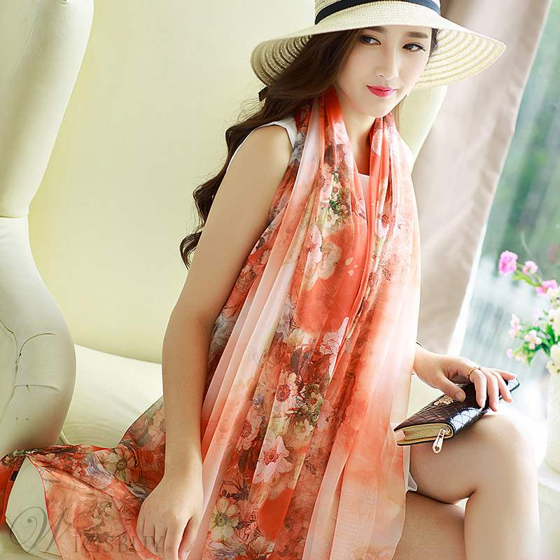 Floral New Fashion Scarf