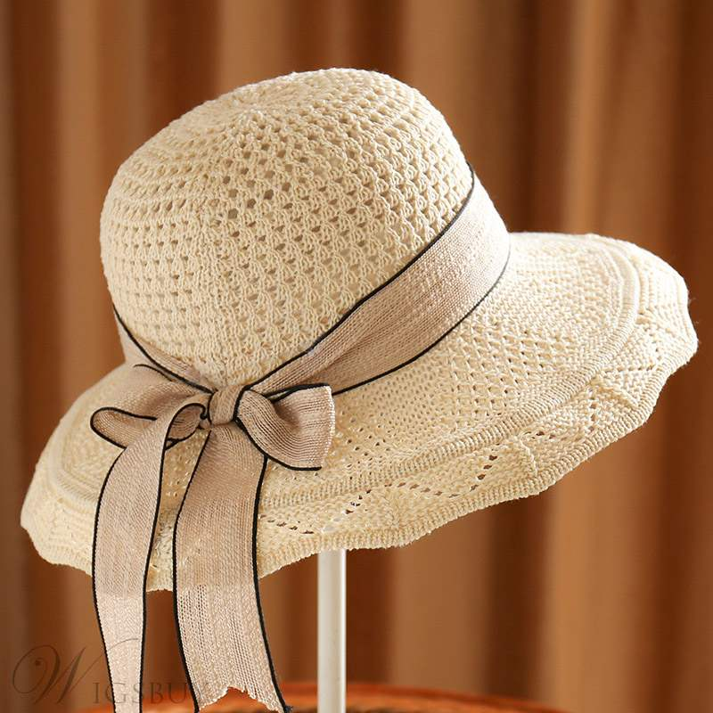 Straw Bowknot Hat