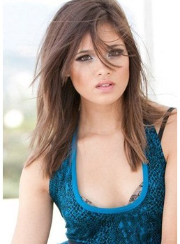 Best Quality Long Elegant Natural Straight Synthetic Hair Lace Front Wigs 22 Inches