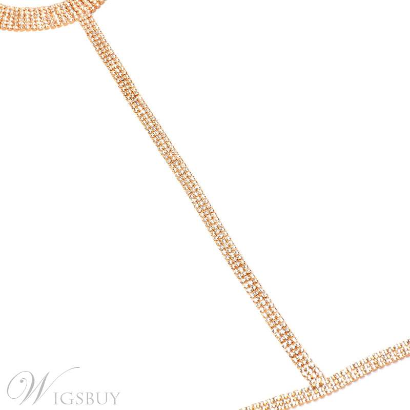 Diamante Sexy Body Chain Necklace
