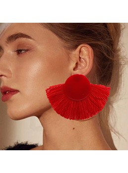 Colour Tassel Earrings