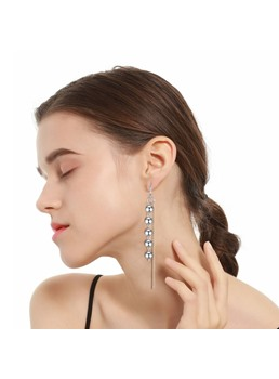 Beads Chain Earrings
