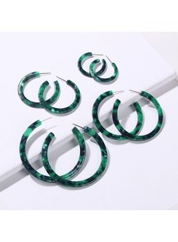 Hoop Colourful Earrings