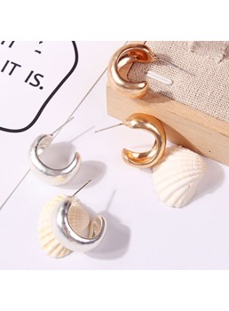 Hoop Simple Chic Earrings