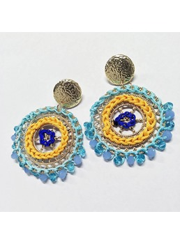 Hoop Beads Earrings