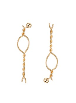 Chic Twisted Earrings