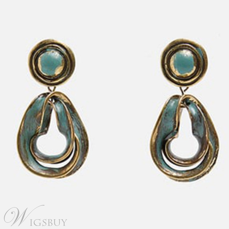 Vintage Alloy Exquisite Earrings For Women