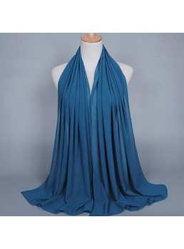 Chiffon Pure Color Scarf