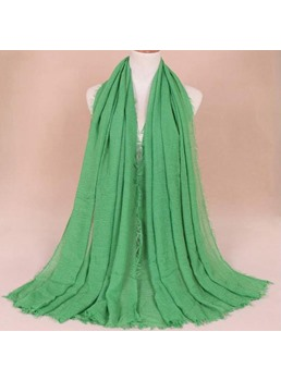 Pure Colour Chiffon Scarf