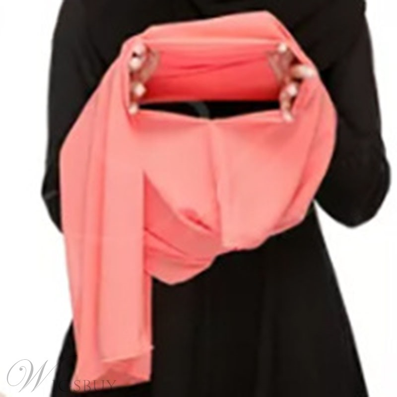 Pure Colour Chiffon Scarf For Women
