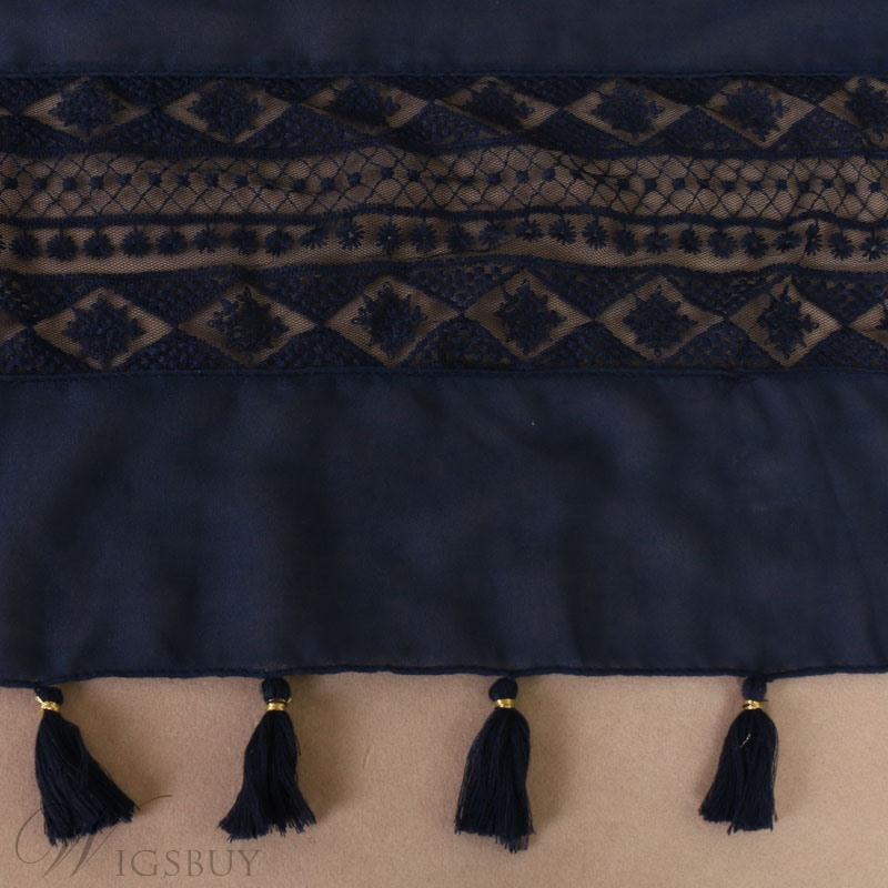 Tessel Embroidery Scarf