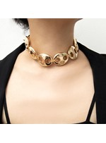 Pig Nose Chain Golden Necklace