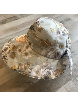 Women Summer Flower Straw Sunhat