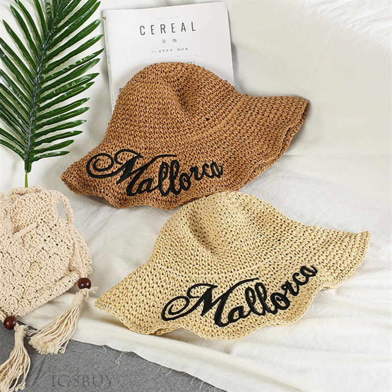 Women Summer Fashion Latter Straw Sunhat
