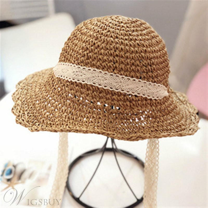 Women Summer Straw Sunhat