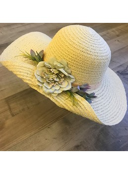 cappellino per donna estate in tessuto
