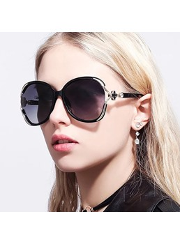 Elegant Wrap Shape Sunglasses For Women