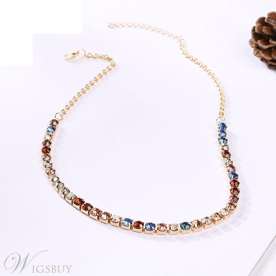 Colour Gems Necklace For Women
