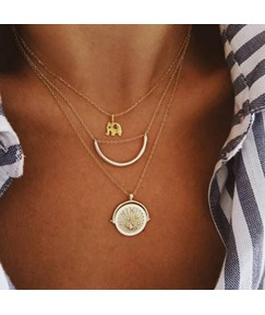 Moon Golden Necklace