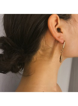 Golden Conch Earrings For Earrings