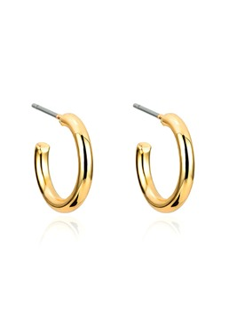 Hoop Golden Earrings For Women