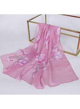 Chiffon National Style Sheer Sunscreen Scarf