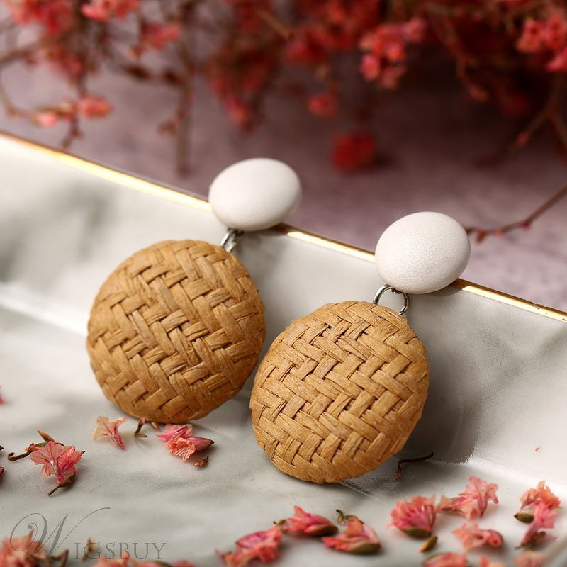 Wood Fashion Women Earrings