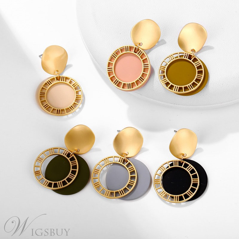 Candy Color Stdut Ear Stud