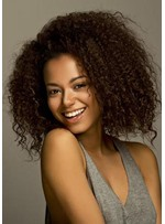 Sexy Kinky Curly Sexy Short Layer Synthetic Hair Capless Wigs 20 Inches
