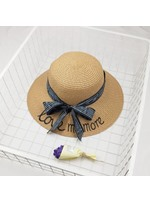Summer Bowknot Straw Hat