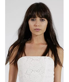 Long Straight Sexy Bang Layer Synthetic Hair Capless Wigs 26 Inches