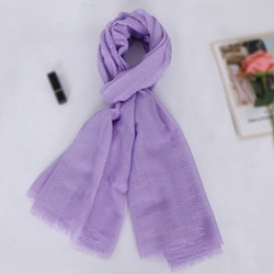Artistic Pure Cotton And Linen Scarf