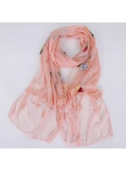 Chiffon National Style Sheer Sunscreen Colours Scarf