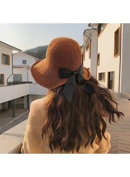 Collapsible Summer Women Straw Hat