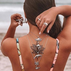 Alloy Dolphin Fashion Necklace