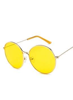 Colour Jelly Transparent Color Sunglasses