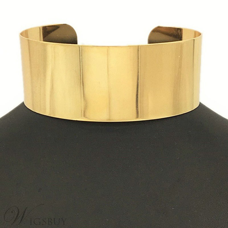 Alloy Golden Choker Nigerian Style Neacklace