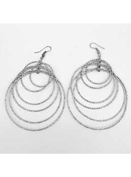 Shining Hoop Earrings