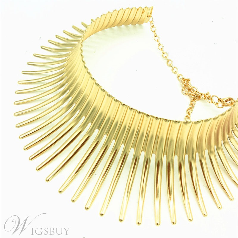 Golden Choker Necklace For Women