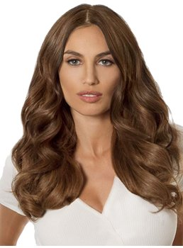 Middle Part Long Wavy Lace Front Wig 20 Inches