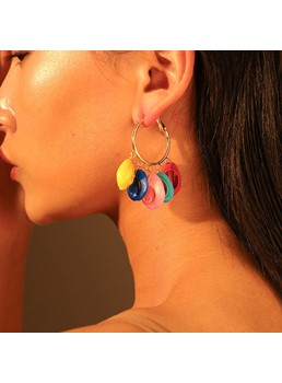 Alloy Drop Earrings For Female