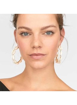 Occident Style Hoop Earrings For Women