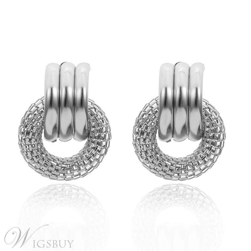 Hoop Fashion New Style Alloy Earrings