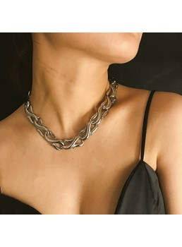Chian Alloy Women Necklace