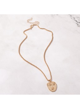 Alloy Fashion Deck Necklace