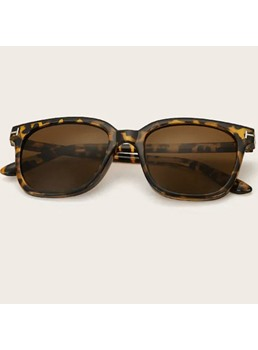 Leopard Print Fashion Sunglasses