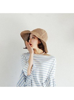 Korean Folding Sunshade Fisherman Basin Hat