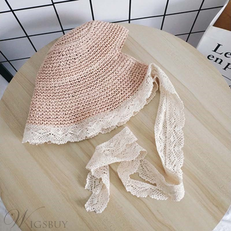 Lace With A Large Brim Sunhat